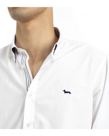 Harmont & Blaine Camisa Class White detalle