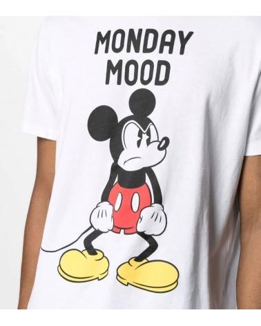 MC2 Saint Barth Camiseta Blanca Mickey Mood detalle