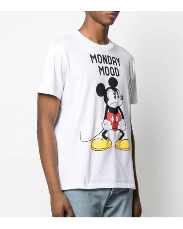 MC2 Saint Barth Camiseta Blanca Mickey Mood modelo