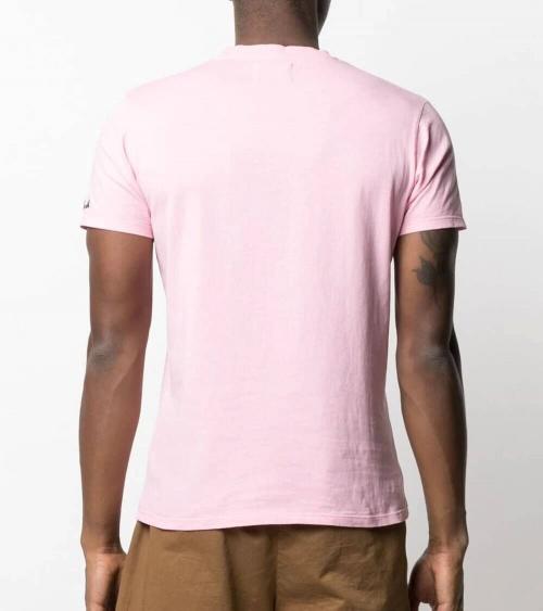 MC2 Saint Barth Camiseta Rosa Vespa Roma espalda