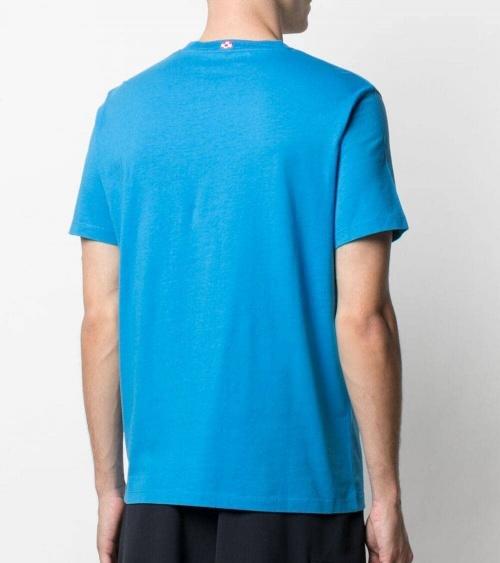 MC2 Saint Barth Camiseta Azul Marino Run espalda