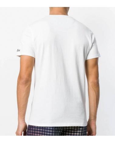 MC2 Saint Barth Camiseta Blanca Duck espalda