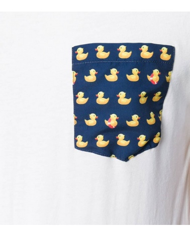 MC2 Saint Barth Camiseta Blanca Duck detalle