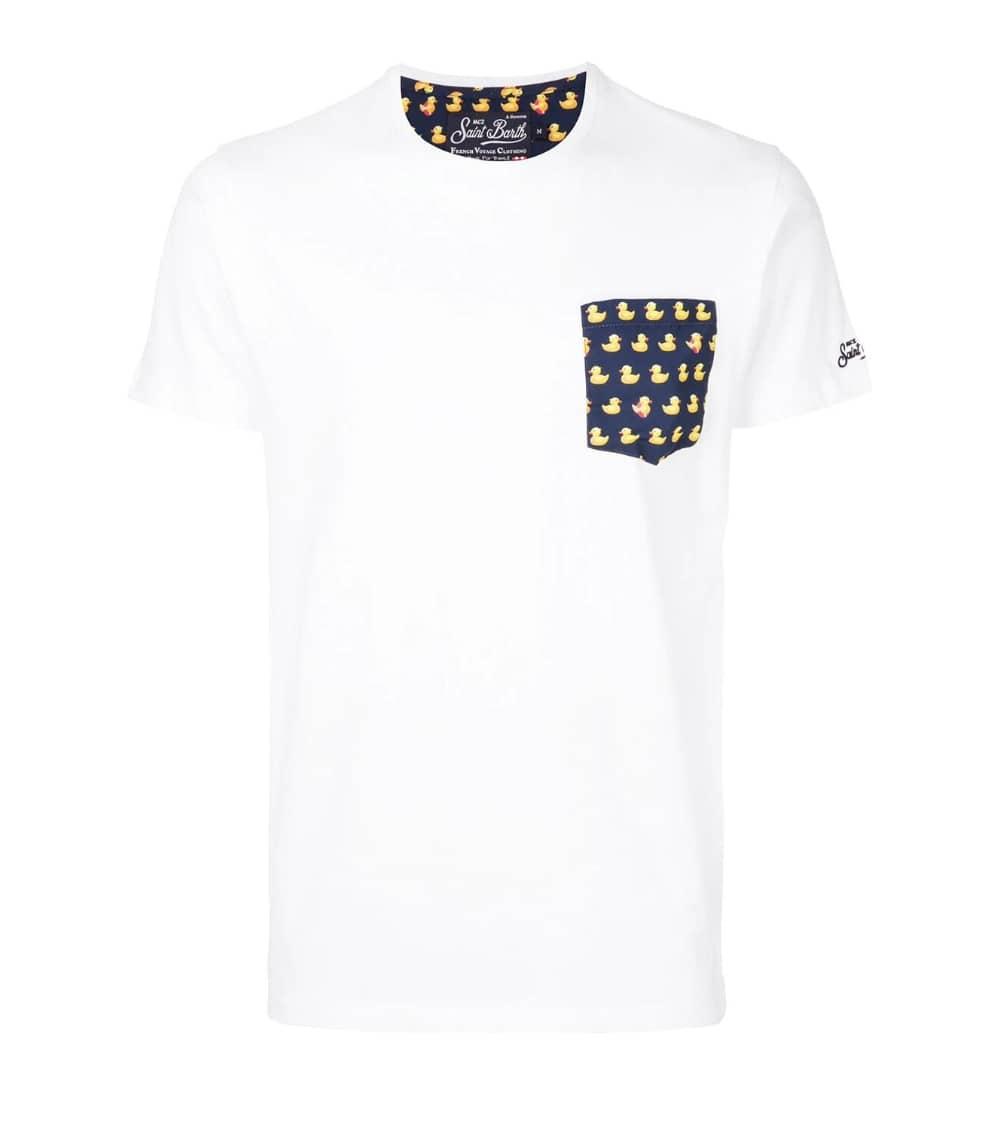 MC2 Saint Barth Camiseta Blanca Duck