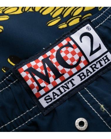 MC2 Saint Barth Bañador Blanco Super Mario detalle