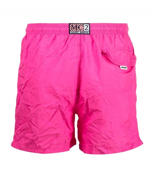 MC2 Saint Barth Bañador Pink Pantone detrás