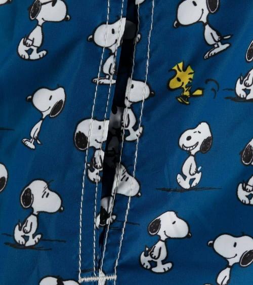MC2 Saint Barth Bañador Navy Snoopy estampado