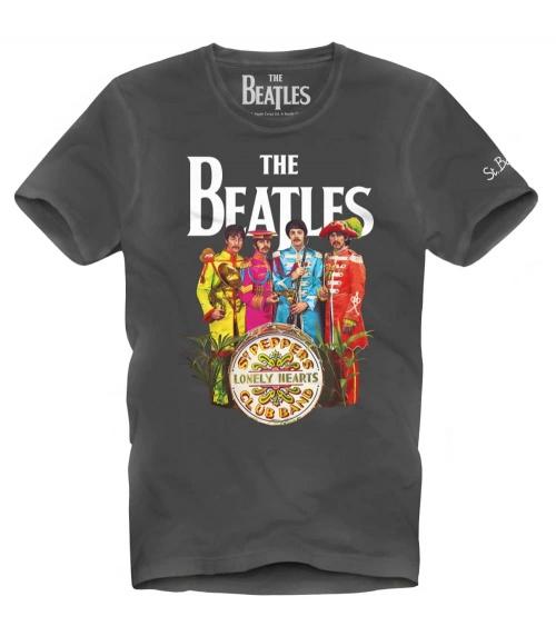 MC2 Saint Barth Camiseta Black The Beatles
