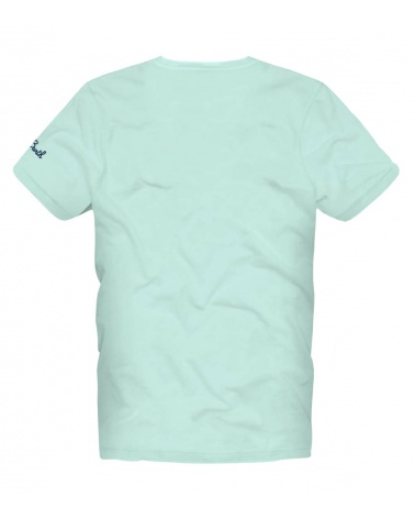 MC2 Saint Barth Camiseta Celeste Spritz detrás