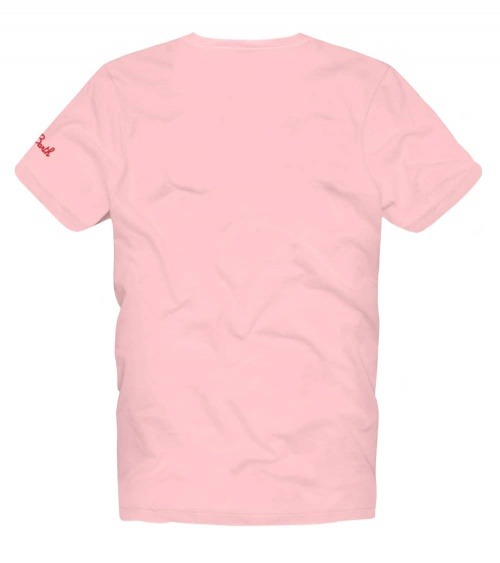 MC2 Saint Barth Camiseta Pink Cuba Libre detrás