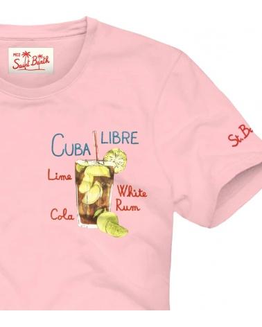 MC2 Saint Barth Camiseta Pink Cuba Libre detalle