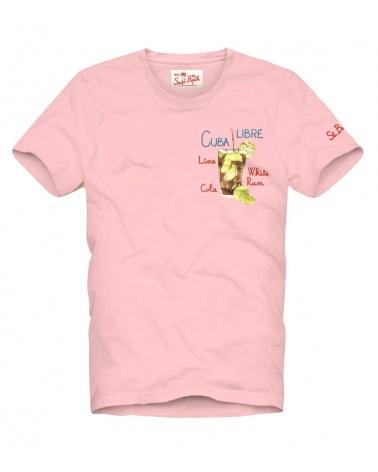 MC2 Saint Barth Camiseta Pink Cuba Libre