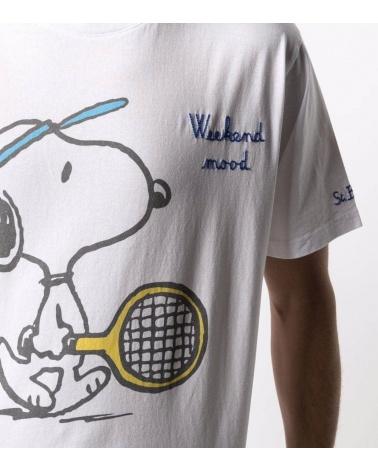 MC2 Saint Barth Camiseta Snoopy Tenis detalle