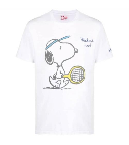 MC2 Saint Barth Camiseta Snoopy Tenis