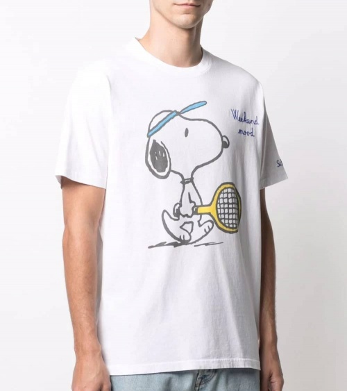MC2 Saint Barth Camiseta Snoopy Tenis modelo