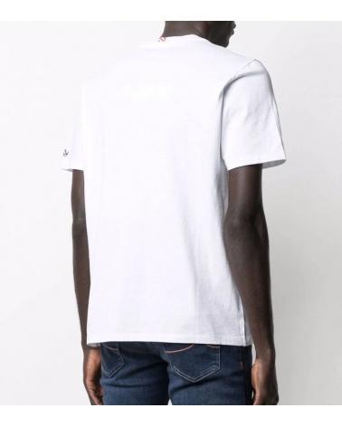 MC2 Saint Barth Camiseta Blanca Donald Gold espalda