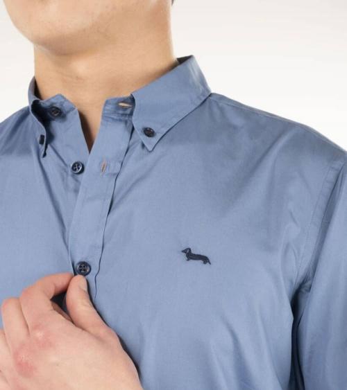 Harmont & Blaine Camisa Class Blue detalle