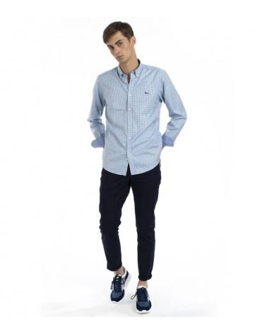 Harmont & Blaine Camisa Vichy Turquesa modelo