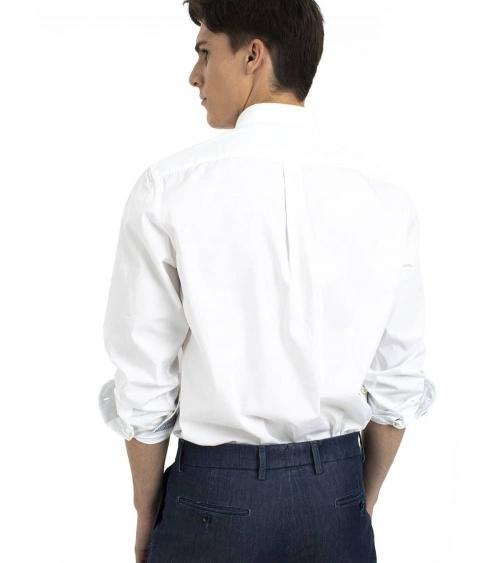 Harmont & Blaine Camisa White Pocket espalda