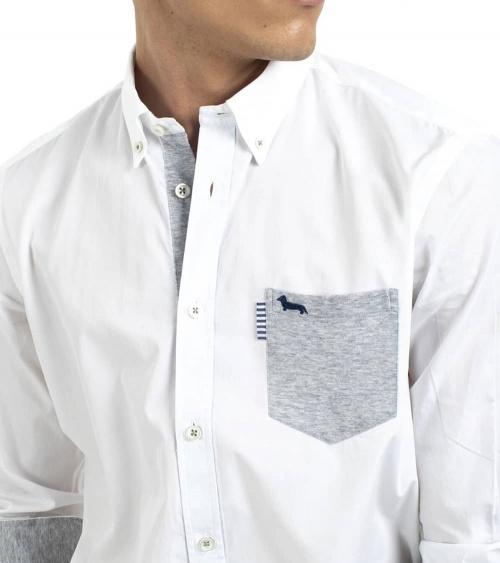 Harmont & Blaine Camisa White Pocket detalle