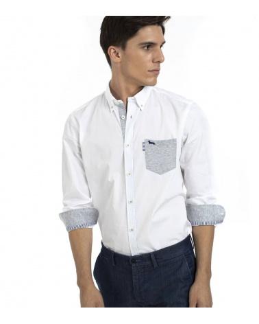Harmont & Blaine Camisa White Pocket