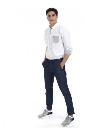 Harmont & Blaine Camisa White Pocket modelo