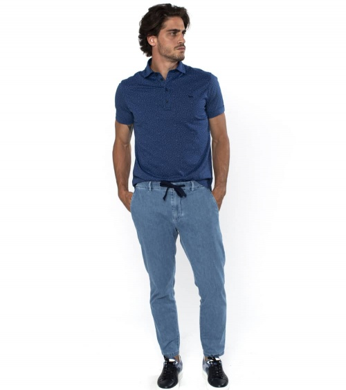 Harmont & Blaine Polo Blue Sample modelo