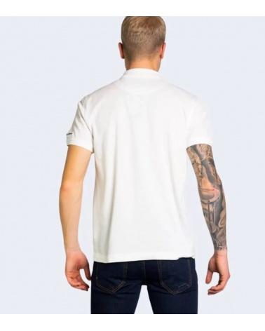 Harmont & Blaine Polo Organic White espalda