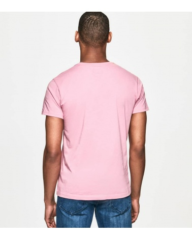 Hackett London Camiseta Rosa Logo espalda