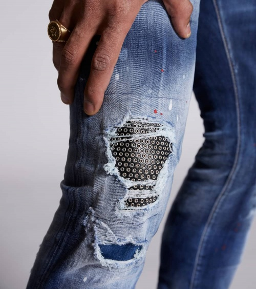 Dsquared2 Jeans Twinky Circles roto