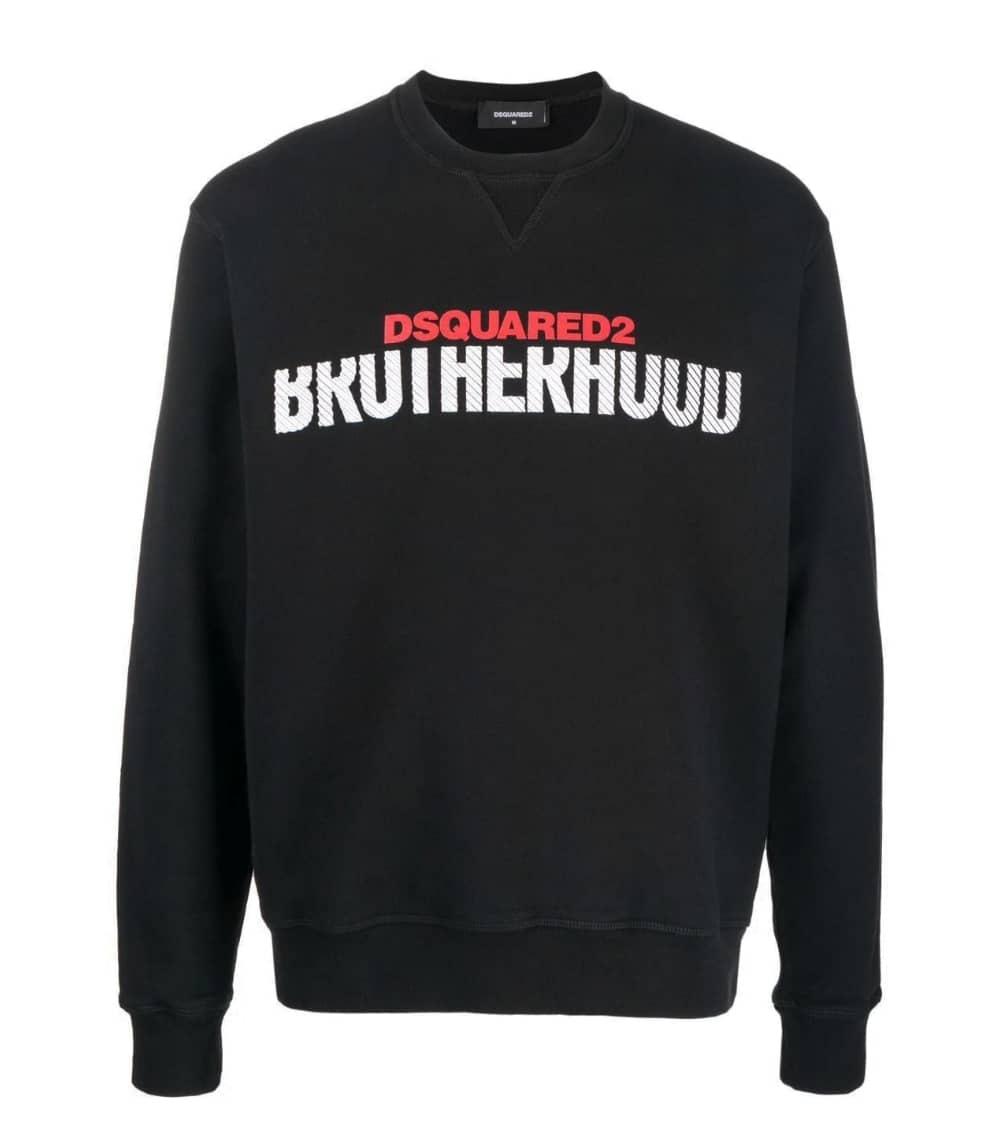 Dsquared2 Sudadera Negra Brotherhood