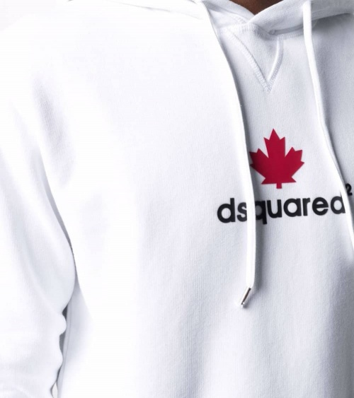 Dsquared2 Sudadera Hoja Canadiense detalle