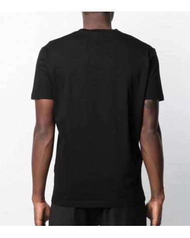 Dsquared2 Camiseta Negra Icon Bulldog espalda