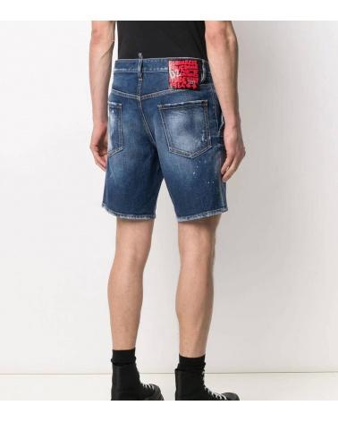 Dsquared2 Bermuda Jeans Etiqueta Sexy detrás