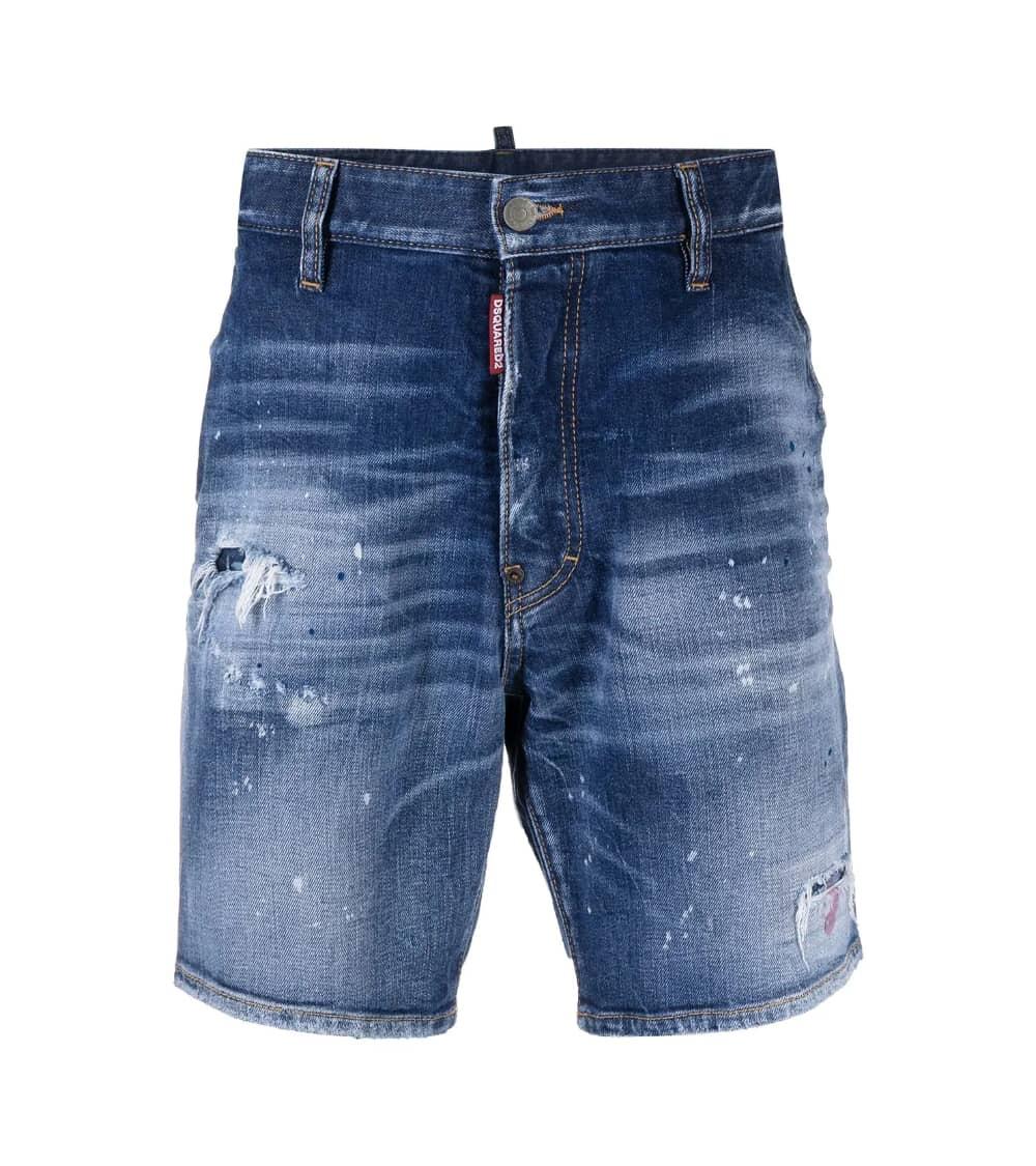 Dsquared2 Bermuda Jeans Etiqueta Sexy