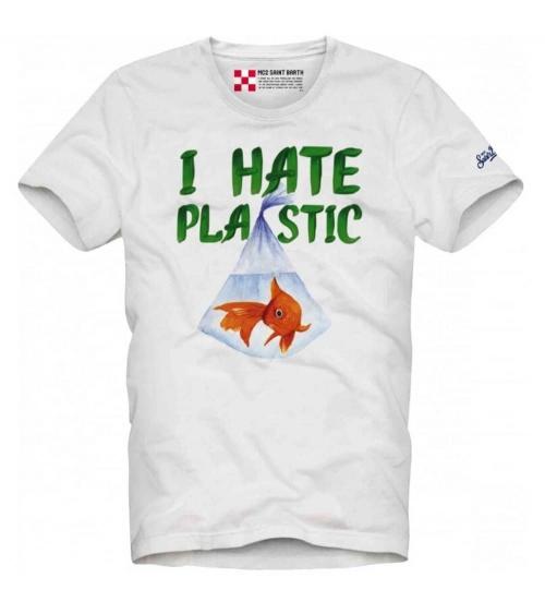 MC2 Saint Barth Camiseta Hate Plastic