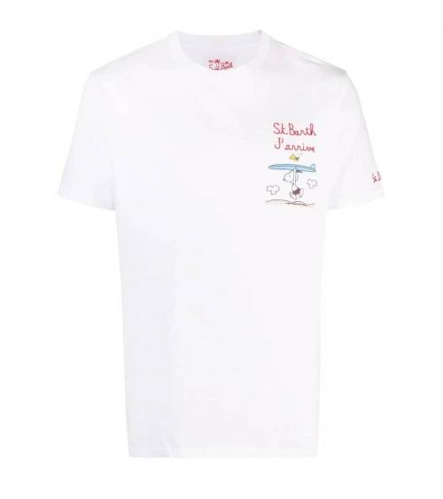 MC2 Saint Barth Camiseta Snoopy Surf
