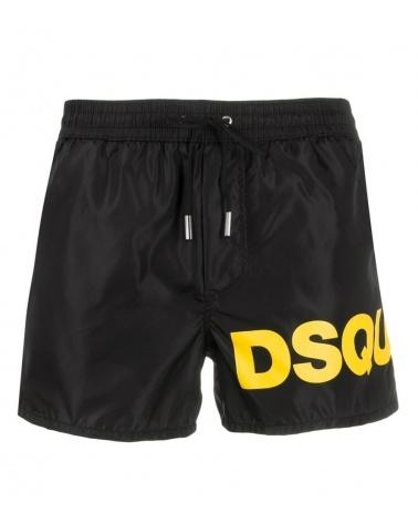 Dsquared2 Bañador Logo Amarillo