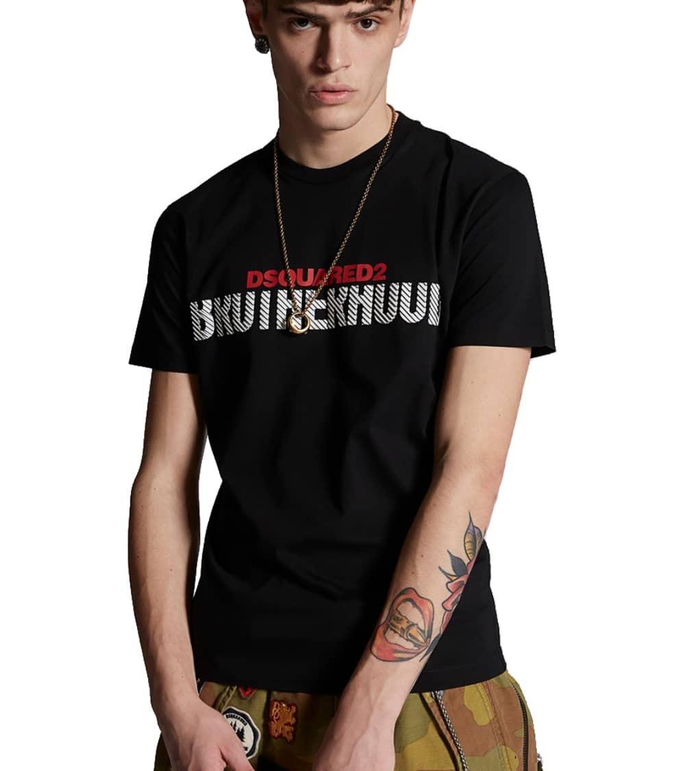 Dsquared2 Camiseta Black Brotherhood