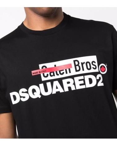 Dsquared2 Camiseta Caten Bros detalle