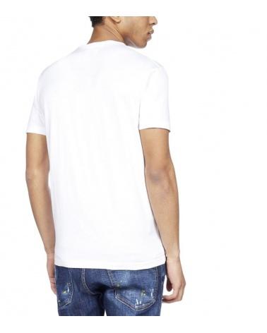 Dsquared2 Camiseta Disco blanca detrás