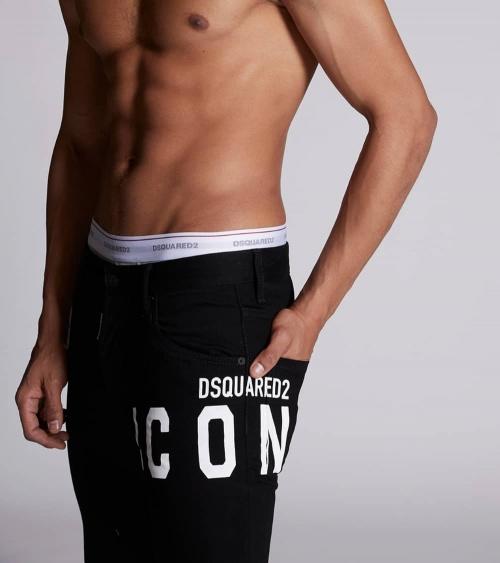Dsquared2 Jeans Black Icon detalle