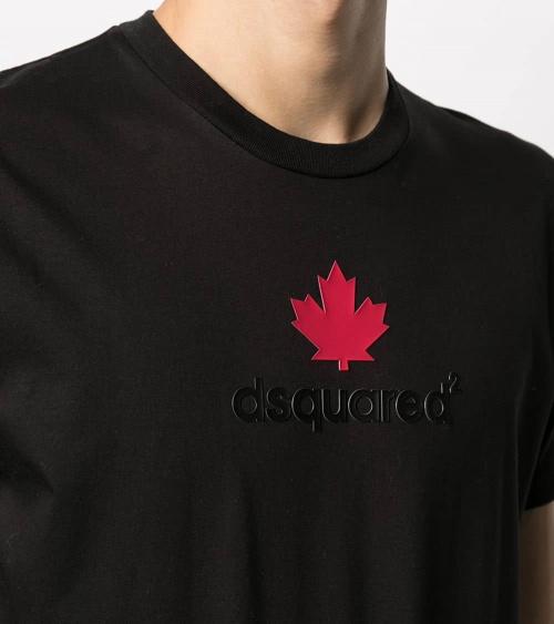 Dsquared2 Camiseta Black Canadian detalle