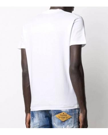 Dsquared2 Camiseta Contrast Logo espalda