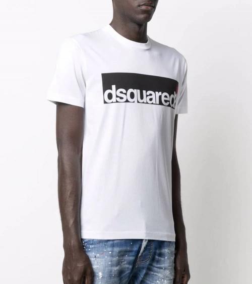 Dsquared2 Camiseta Contrast Logo modelo