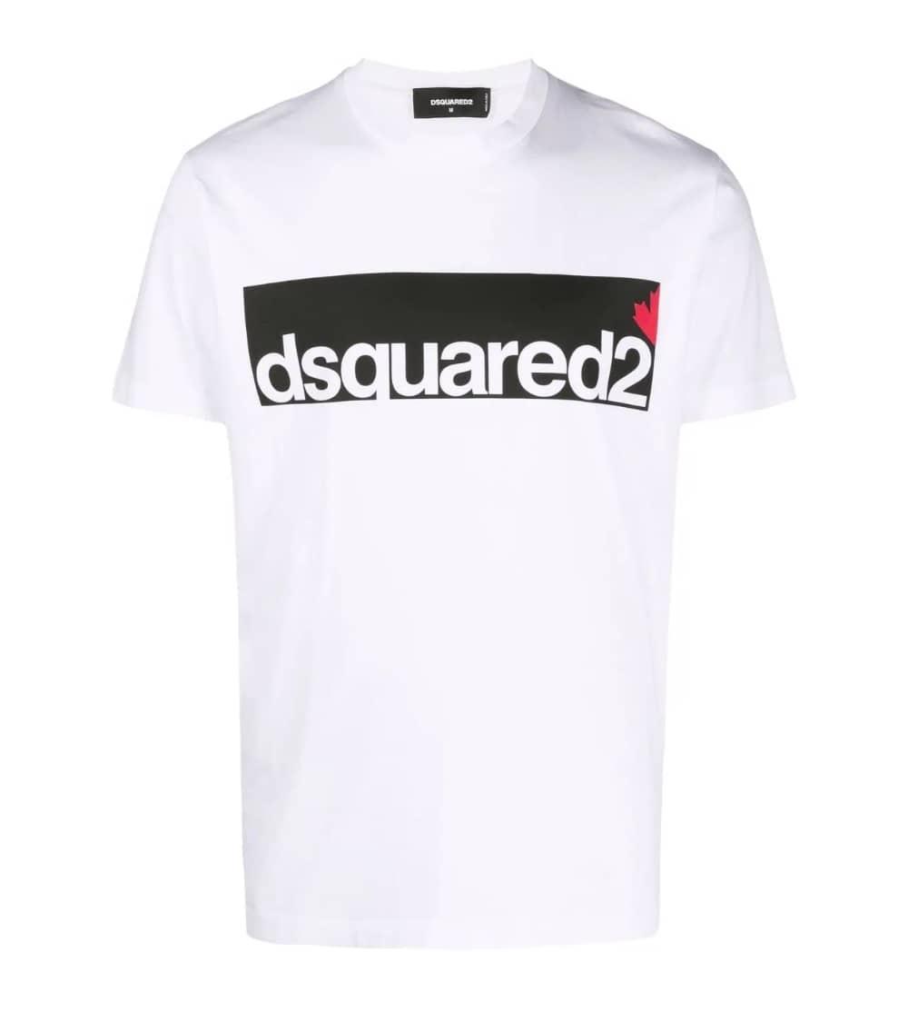 Dsquared2 Camiseta Contrast Logo