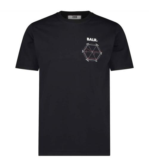 BALR Camiseta Symetry Black