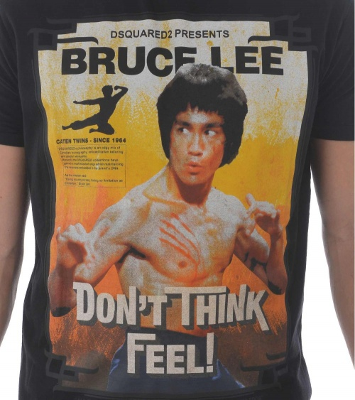 Dsquared2 Camiseta Bruce Lee Black modelo