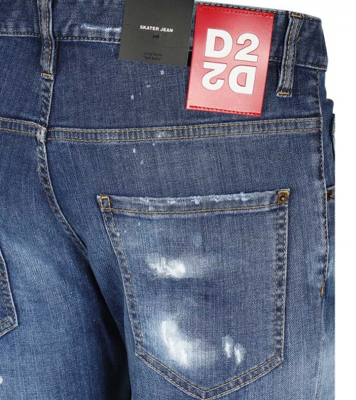 Dsquared2 Jeans Skater detalle