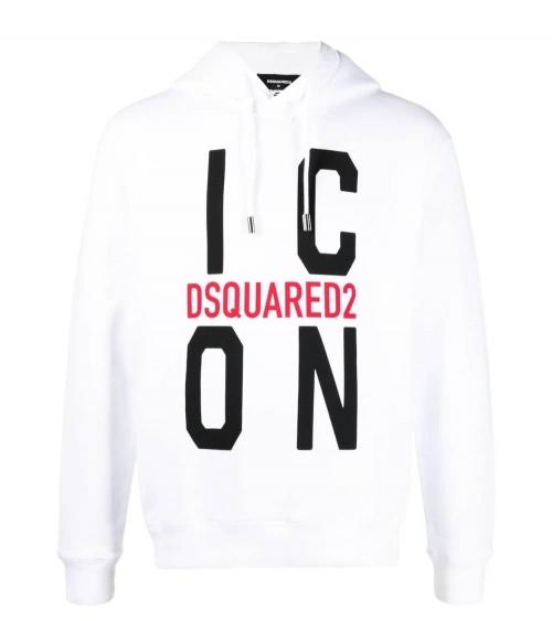 Dsquared2 Sudadera Big Icon White